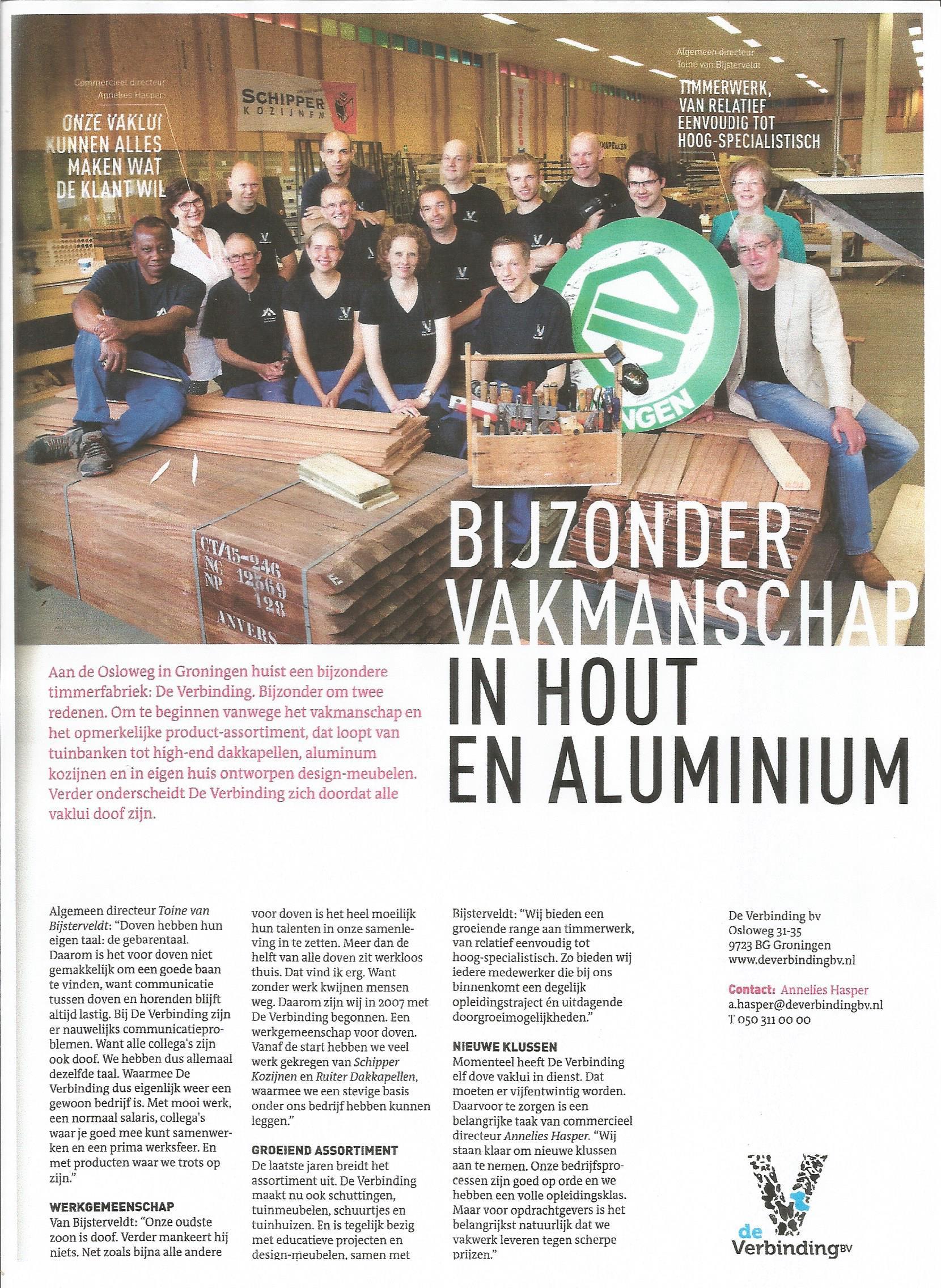 Veel Aandacht In Het Business Blad Van Fc Groningen De